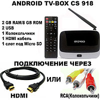 ANDROID TV BOX CS918, фото 1