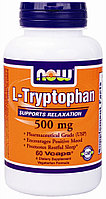 NOW L-Tryptophan 500 mg (60 капсул)