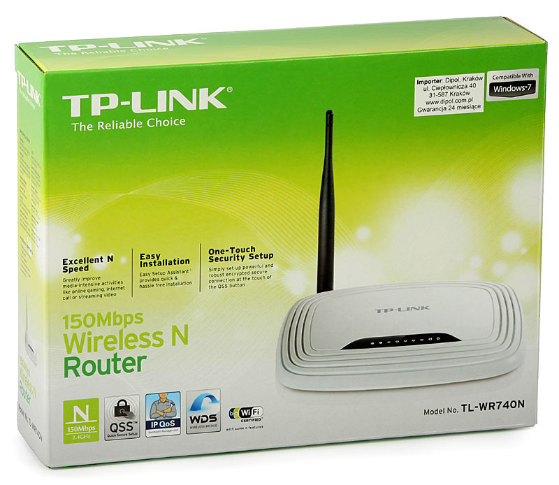 Модем TP-Link TL-WR740N