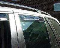 Ветровики дверей, вставные, Германия на BMW X5 E53, фото 1