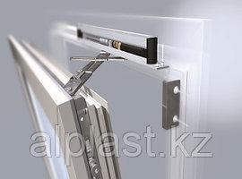 Алюминиевые окна с электроприводом