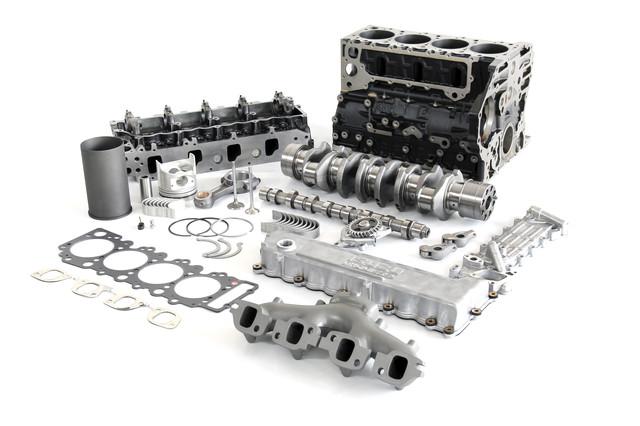 Двигатель 4HG1T/ 4HG1/ 4HF1