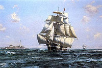 Репродукция картины Roy Cross - McKay Clipper 'Anglo-American', 60x86 cm, SPS565