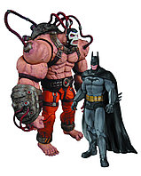 "DC Collectibles ""Batman Arkham City"" Фигурки Бэтмена и Бэйна"