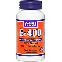 NOW Vitamin E 400 (100 капсул)