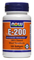 NOW Vitamin E 200 (100 капсул)