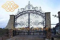 Кованные ворота, фото 1