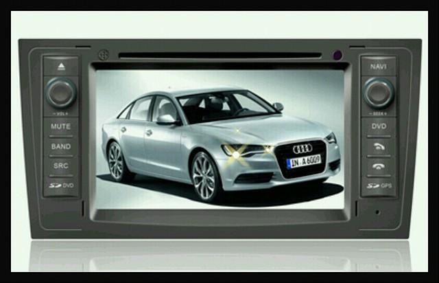 Штатное головное устройство Audi A6