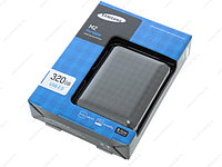 320 Gb Samsung, Portable HDD 2,5'' Black, USB 2.0/HX-M320UAB/G