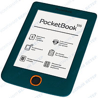 Электронная книга PocketBook 515 Mini Green + чехол