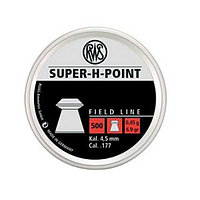 Пули RWS Super-H-Point   4.5mm 0.45g (500pcs)