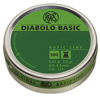 Пули RWS Diabolo Basic  4.5mm 0.45g (500pcs)