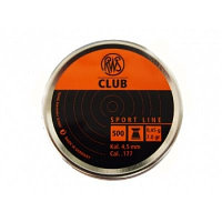 Пули RWS Club  4.5mm 0.45g (500pcs)