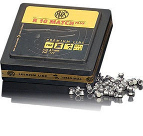 Пули RWS R10 Match Plus Rifle 4.5mm 0.53g (100pcs)