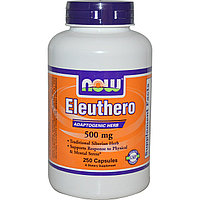NOW Eleuthero 500 mg (100 капсул)
