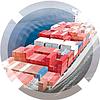 Сборные контейнерные грузоперевозки из Китая в Казахстан, Россию и страны СНГ