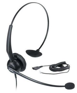 Гарнитура Yealink YHS33 QD/RJ9 для телефонов Yealink