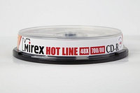 CD-R Mirex HOTLINE 700 Мб 48x Cake box 10