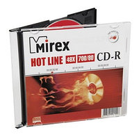 CD-R Mirex HOTLINE 700 Мб 48x Slim case