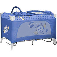 Кровать-манеж Bertoni Travel Kid 2, Blue Baby owl 1418