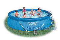 Надувной бассейн Intex Easy Set Pool - 28166.54908 457х107см