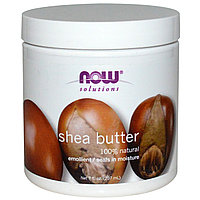 Масло ши (карите), 100% натуральное, 207 мл, (Shea Butter), Now Foods