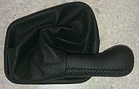 Чехол (кожух) ручки КПП (кожа) Лада 110