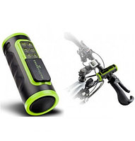Energy Sistem Bike MP3 Music Box Black&Green (microSDHC, Rechargeable battery, FM)