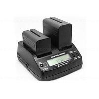 Зарядное устройство AC-VQ1051С (двойное) для Sony NP-F970