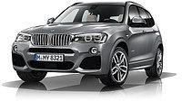 Обвес M sport для BMW X3 рестайлинг