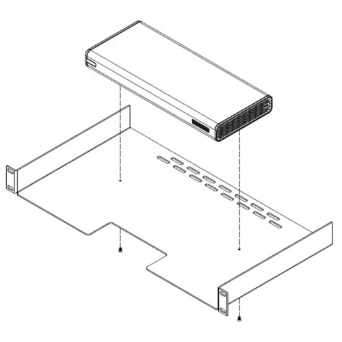 Polycom Shelf for mounting the RealPresence Group 300 & 500 series codecs (2215-06177-001)