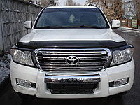 Дефлекторы капота (мухобойки) на Land Cruiser Prado 150,155 ,Land Cruiser 200,Lexus LX570, фото 1