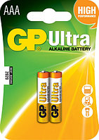Батарейки LR03 AАA 2 шт GP Batteries Ultra alkaline