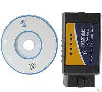 ELM 327 Bluetooth OBDII сканер. Беспроводной адаптер с поддержкой CAN ( ELM327 )