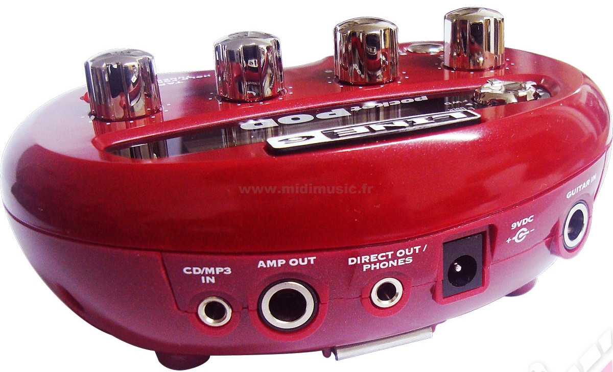LINE 6 POCKET POD DIRECT GUITAR PREAMP