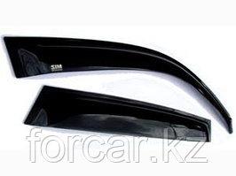 Дефлекторы окон SIM для M-Class W163 1998 - 2005, W164 2005 -, темные, на 4 двери
