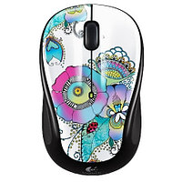 Беспроводная мышь Logitech M325 optical, 1AA, USB unifying-receiver Lady on the Lily Black-White