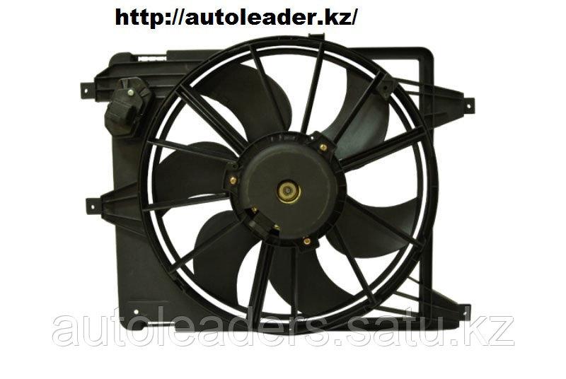 Диффузор радиатора в сборе Sandero 2010-2014