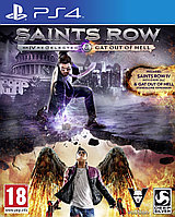 Saints Row IV ( 4 ): Re-Elected + Saints Row: Gat Out Of Hell ( Рус ) PS4