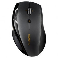 Клавиатуры и мышки Rapoo Rapoo Wireless Laser Mouse 7800P Black USB