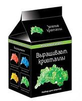 Научные игры мини: Выращиваем кристалы (зеленые)