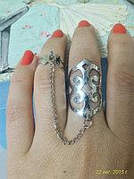 """Кольцо на два пальца """"Айседоре"""", фото 1"""