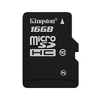 Карта памяти Kingston 16GB microSDHC Class 10 (no adapter) (SDC10/16GBSP)