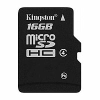 Карта памяти Kingston 16GB microSDHC Class 4 (no adapter) (SDC4/16GBSP)