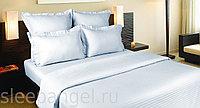Комплект постельного белья, сатин-страйп, 1,5 спальное, в полоску