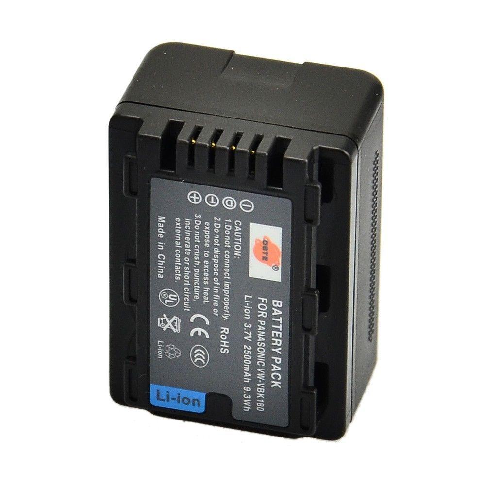 Аккумуляторы VBK-180 от DSTE на PANASONIC HDC-SD90 HDC-TM90 HDC-HS60 HDC-HS80