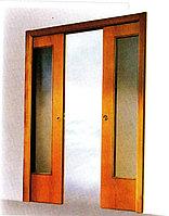 Система раздвижных дверей двойная