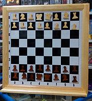 Шахматы настенные демонстрационные 810х810мм магнитные