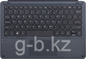 """Dark blue color, Bluetooth keyboard for 10.1"""" Windows tablet , micro USB charging cable included,bilingual (EN"""