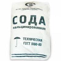 Кальцинированная сода. Цена за  25 кг.